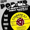 Pop Up Party at CommuneA7