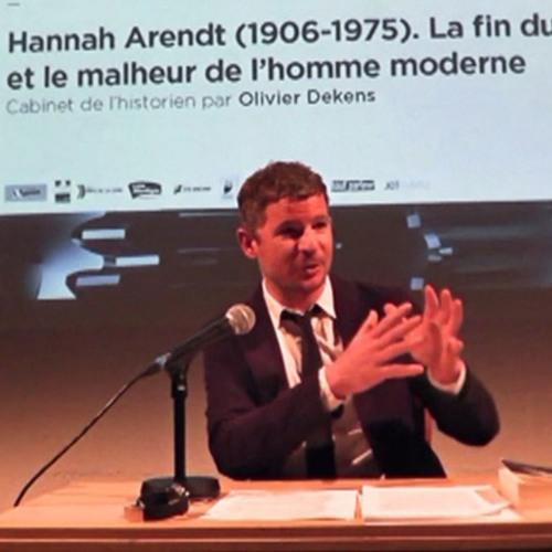 Hannah Arendt (1906-1975) - La fin du travail et le malheur de l'homme moderne par Olivier DEKENS