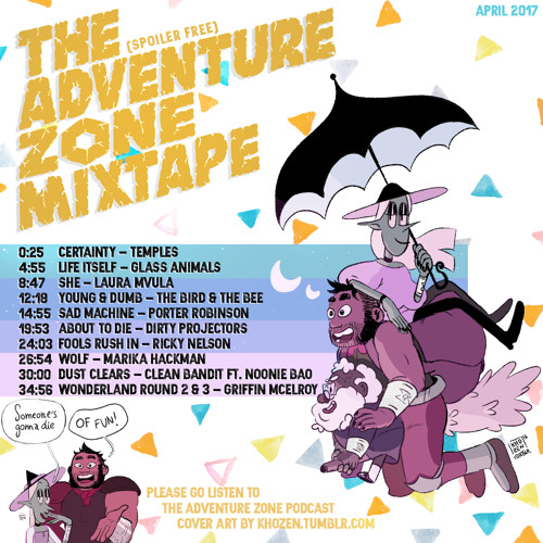 the adventure zone mixtape by youjustgotfaced free listening on