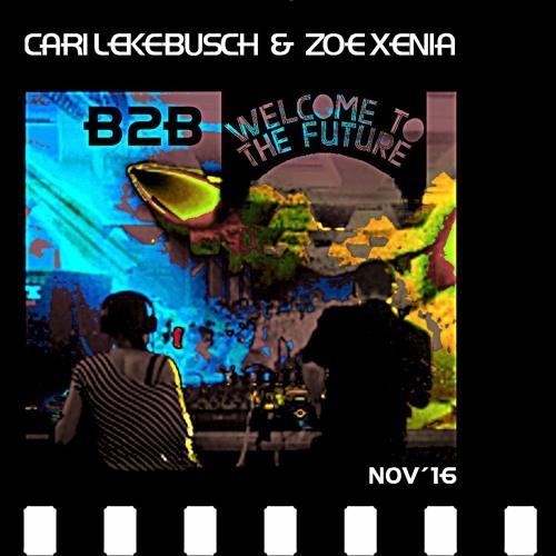 Cari Lekebusch B2B with Zoe Xenia at Welcome To The Future Indoor Festival November 2016