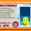 How to download YouTube Video Downloader TubeMate on Moto G mobiles?.mp3