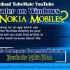 How to download TubeMate YouTube Downloader on Windows Nokia mobiles?.mp3