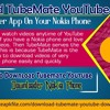 Download TubeMate YouTube downloader app on your Nokia phone.mp3