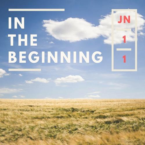 John 1 In the Beginning