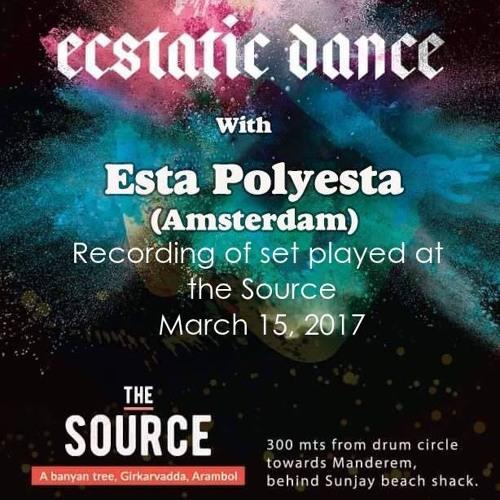 DJ Polyesta Ecstatic Dance At The Source Arambol India,