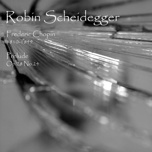 Chopin - Prelude Op.28 No.24 (Pianist: Robin Scheidegger)