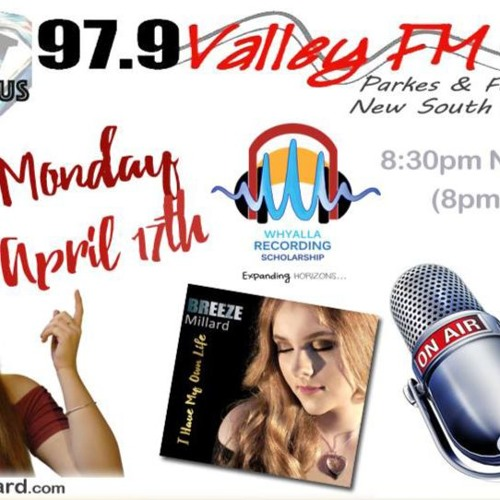 BREEZE Millard On MONTEFAMOUS MONDAYS 97.9 VALLEY FM