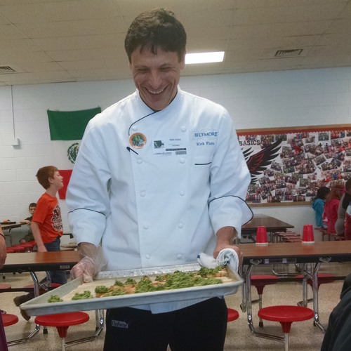 Chef in the Cafeteria