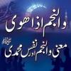 Wan Najmi iza hawa, Maana Wan Najm aur Nafs e Muhammadi (S.A.W)