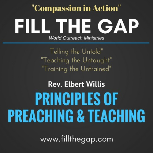 Principles of Preaching & Teaching