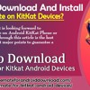How to Download and Install TubeMate on KitKat Devices?