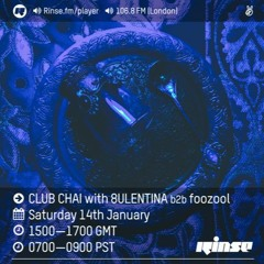 ADDY FT. LONDON JADE RINSE FM RIP: CLUB CHAI 1/14/17 FORTHCOMING BOUKAN RECORDS