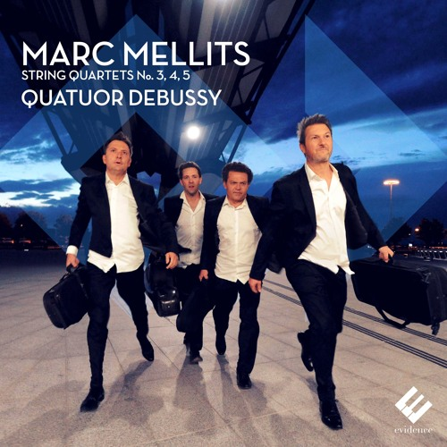 Marc Mellits - String Quartet No. 3: Tapas,  III. Three | Quatuor Debussy