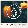 Cr3on & DeepMe - Spring Mix 2017 - HOUSE & DEEP HOUSE