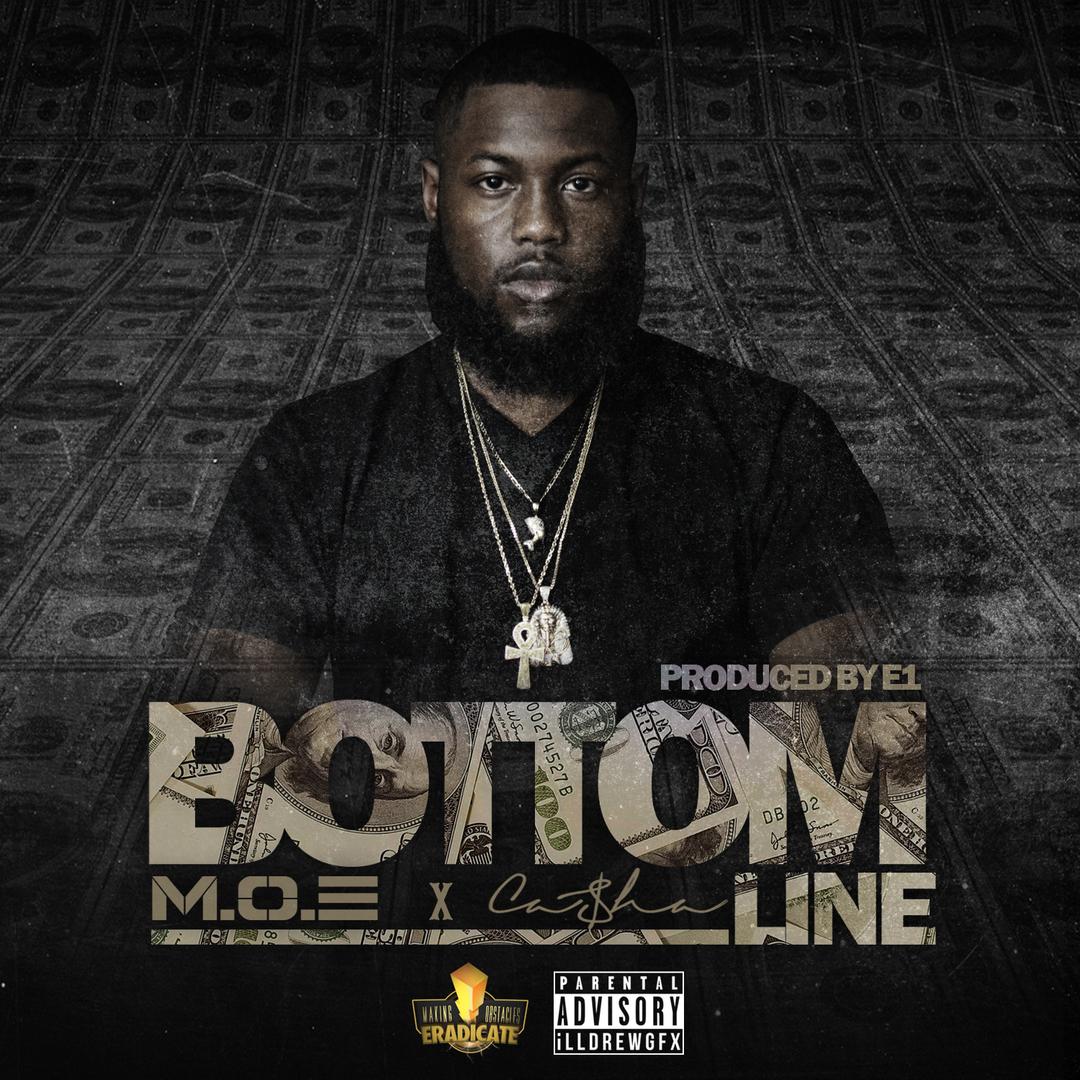 M.O.E x Casha - Bottom Line (Prod. E1) [Thizzler.com]