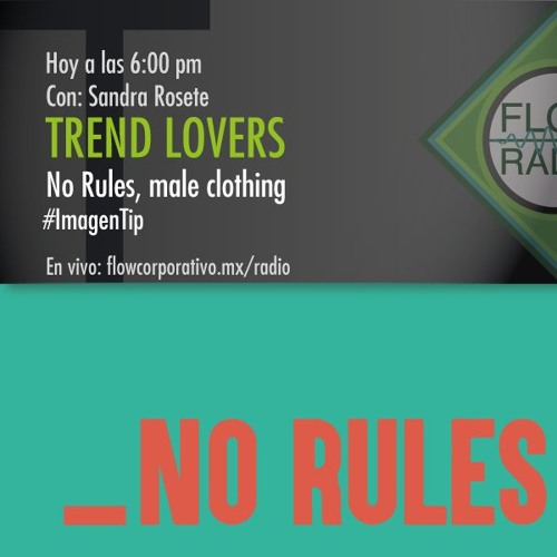Trend Lovers 076 - No rules, male clothing