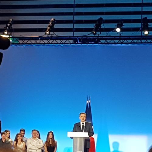 Meeting de François Fillon à Eurexpo