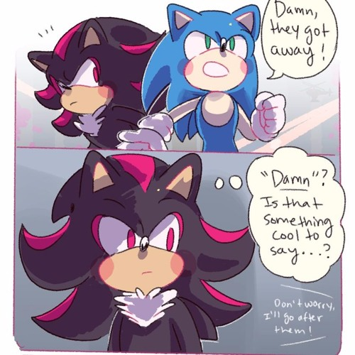 Shadow Just Wants To Be Cool Shadow The Hedgehog Comic Dub By Nathan Morrison Voice Actor On Soundcloud Hear The World S Sounds