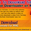 How to download TubeMate YouTube Downloader on Mac PC?