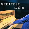 Sia The Greatest Piano Cover by Peter Bence