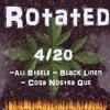 CLT Creative Loafing 420 issue  FT Rotated- Ali Steele , Black Linen , Cosa Nostr Que