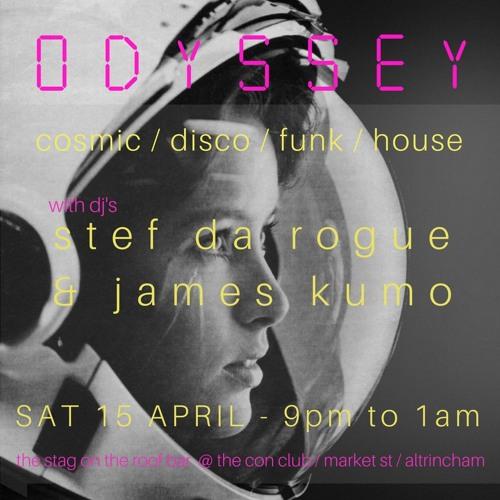 James Kumo Odyssey 15th April 17