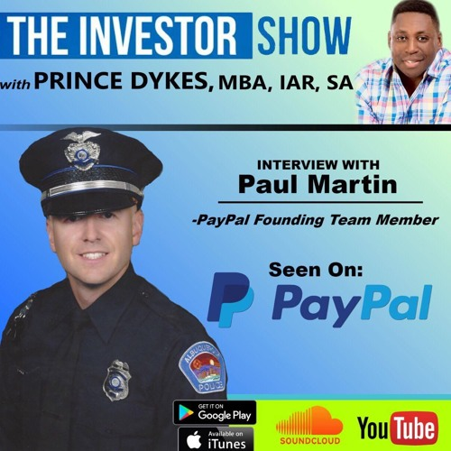 PayPal founder member Paul Martin on starting Paypal
