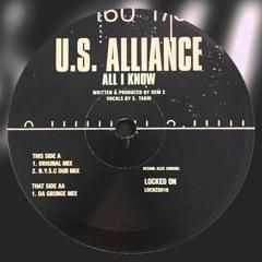 All I Know - U.S. Alliance