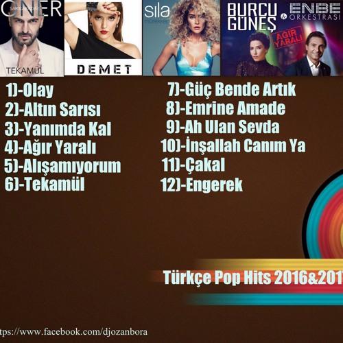 Dj.Ozan Bora - Türkçe Pop Hits 2016&2017 Mix