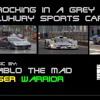Rocking in a Grey Luxury Sports Car