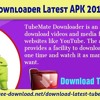 TubeMate Downloader Latest APK 2017 Download