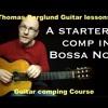 Bossa Nova Guitar comping_Easy exercise