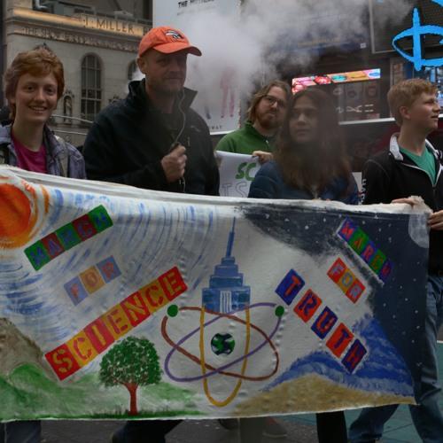 Wrap - Marcha por la ciencia / March for Science in Spanish