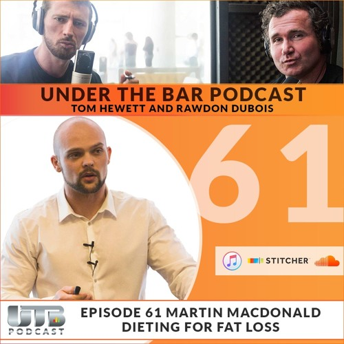 Martin MacDonald Part 2 - Feature Guest on Ep. 61 of Under The Bar Podcast