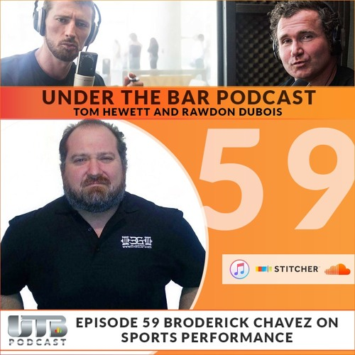 (WARNING EXPLICIT)The Evil Genius - Broderick Chavez Special guest on Ep. 59 of Under The Bar