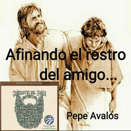 Afinando el rostro del amigo - Pepe Avalos