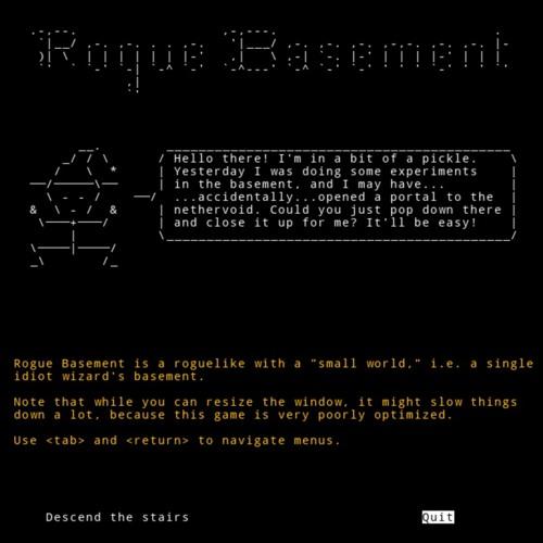 Rogue Basement OST