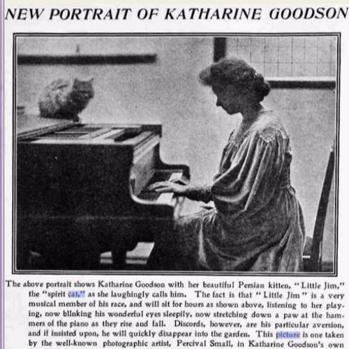 Chopin: Waltz  Op. 69  No.1 Fm. Katharine Goodson in 1929, on Duo-Art 7310