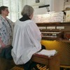 Trinity Episcopal Church Easter Service - Buxtehude Prelude and VT Alma Mater