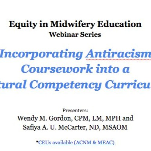 Incorporating Antiracism Coursework into a Cultural Competency Curriculum