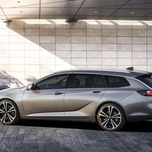 Geneva Autosalon 2017 Opel Insignia Reveal Soundtrack Snippet