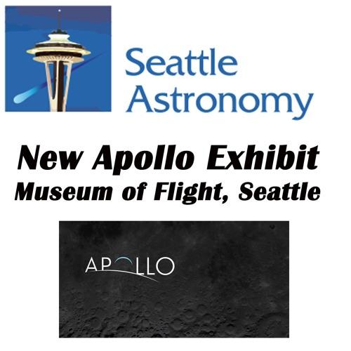 Apollo exhibit at Museum of Flight