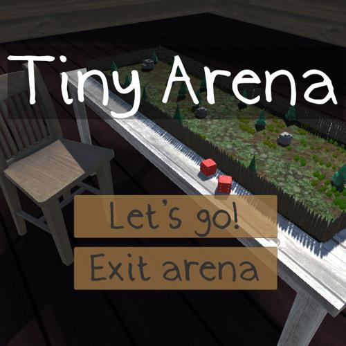 Ludum Dare 38 - Tiny Arena - 01 - Title (Victory Motive)