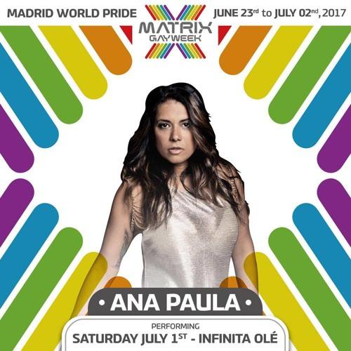 DJ Ana Paula - World Pride 2017 Podcast