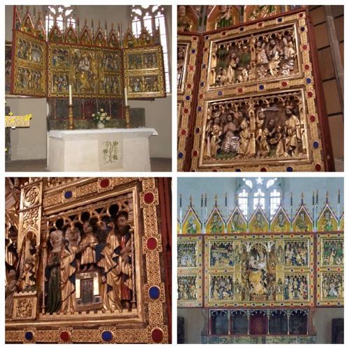 600 Jahre alte Bildersprache - Der Marienaltar in der evangelischen Johanniskirche Wernigerode