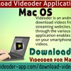 Download Videoder application for Mac OS