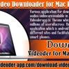 Videoder Video Downloader for Mac PC/OS/Pro?