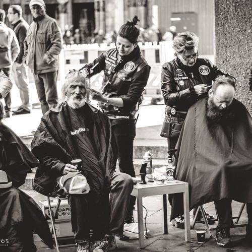 DOMRADIO Köln vom 24. April 2017_Haareschneiden für Obdachlose