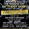 Dj Jon Fazak - Mc Stretch - Time 2 Bounce - 4th Birthday Bash - 22nd April 2017
