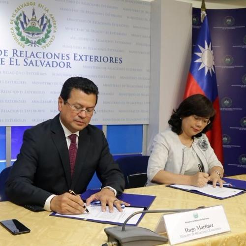 Gob. recibe fondos por parte de la Rep.de China (Taiwán) para proyectos de salud e infraestructura